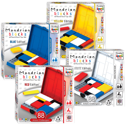 Ah!Ha Mondrian Blocks