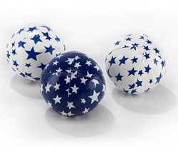 Juggling Balls -Junior- White/blue