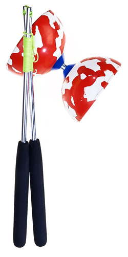 Red/white Diabolo Acrobat 100 -set-