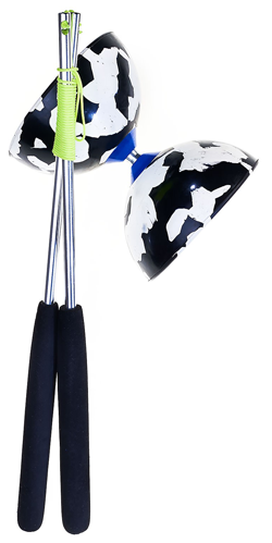 Black/white Diabolo Acrobat 100 -set-