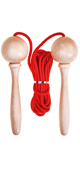3m Adjustable Skipping Rope - Red