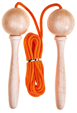 5m Adjustable Skipping Rope - Orange